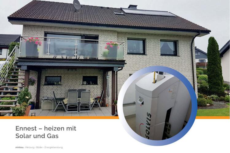 Ennest – heizen mit Solar und Gas