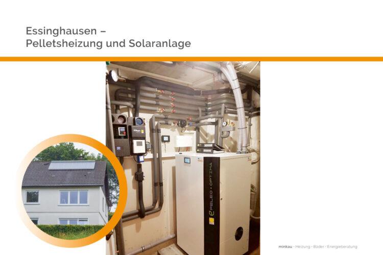 Essinghausen – Pelletsheizung mit Solaranlage