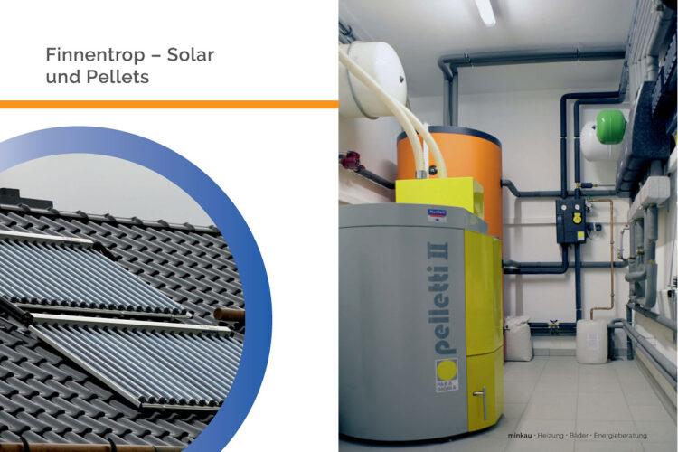 Finnentrop – Solar- und Pelletsheizung