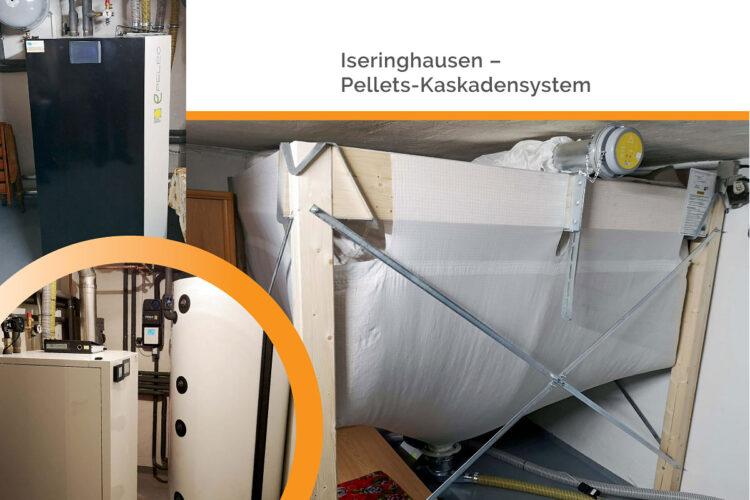 Iseringhausen – Pellets-Kaskadensystem