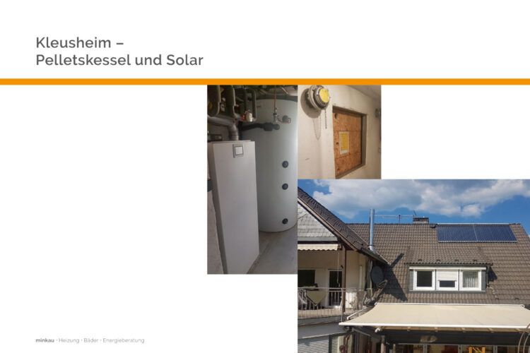 Kleusheim – Solar mit Pellets