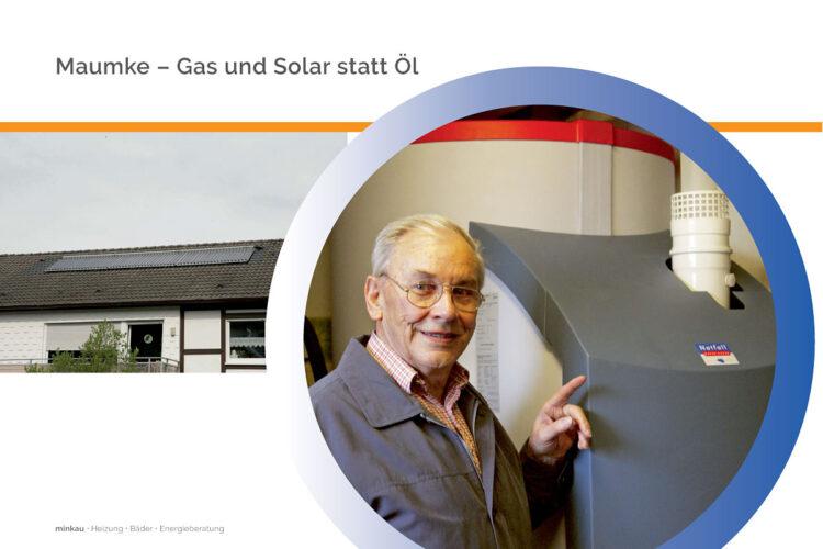 Maumke – Gas und Solar statt Öl