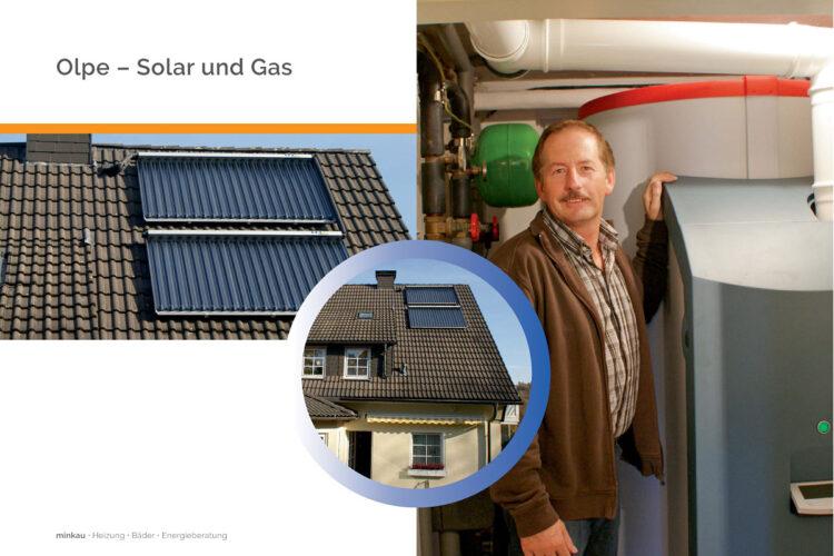 Olpe – Solarwärme und Gasheizung
