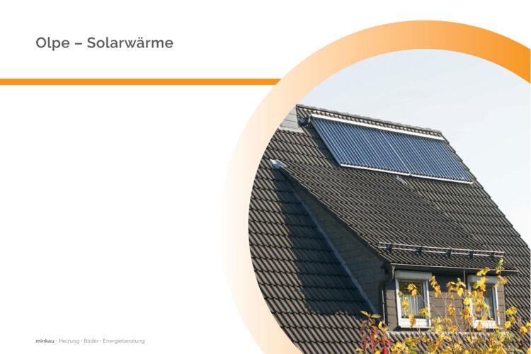 Olpe – Solarwärme