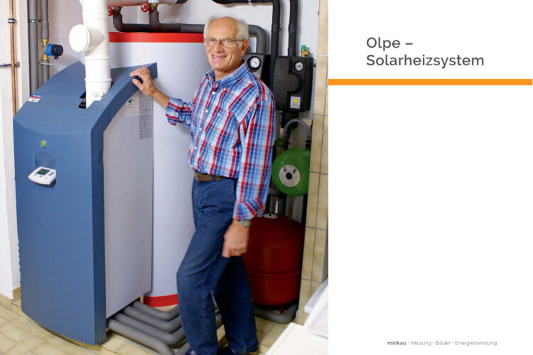 Olpe – Solarheizsystem